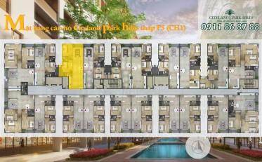 Sang nhượng căn hộ Cityland Park Hills 2 phòng ngủ lầu 7