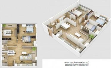 Thông tin căn hộ Cityland Gò Vấp 3 phòng ngủ