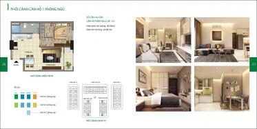 Cho thuê căn hộ Cityland 2 phòng ngủ