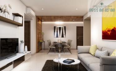 Sang nhượng căn hộ Cityland Park Hills 3 phòng ngủ lầu 8