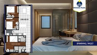 Bán căn hộ Mt quốc lộ 13 Roxana Plaza 2pn - 64 m2 giá 1.35 tỷ LH: 0909680549