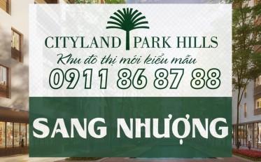 Sang nhượng căn hộ Cityland Park Hills 1 phòng ngủ lầu 7